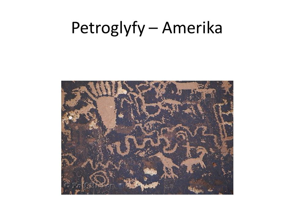 Petroglyfy – Amerika