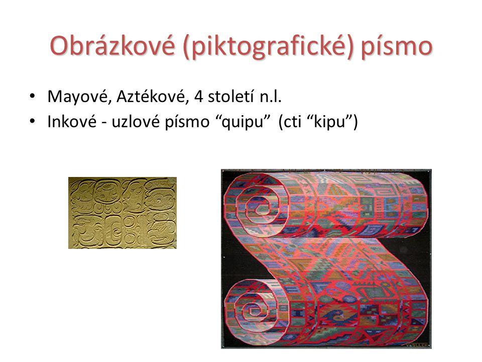 Obrázkové (piktografické) písmo