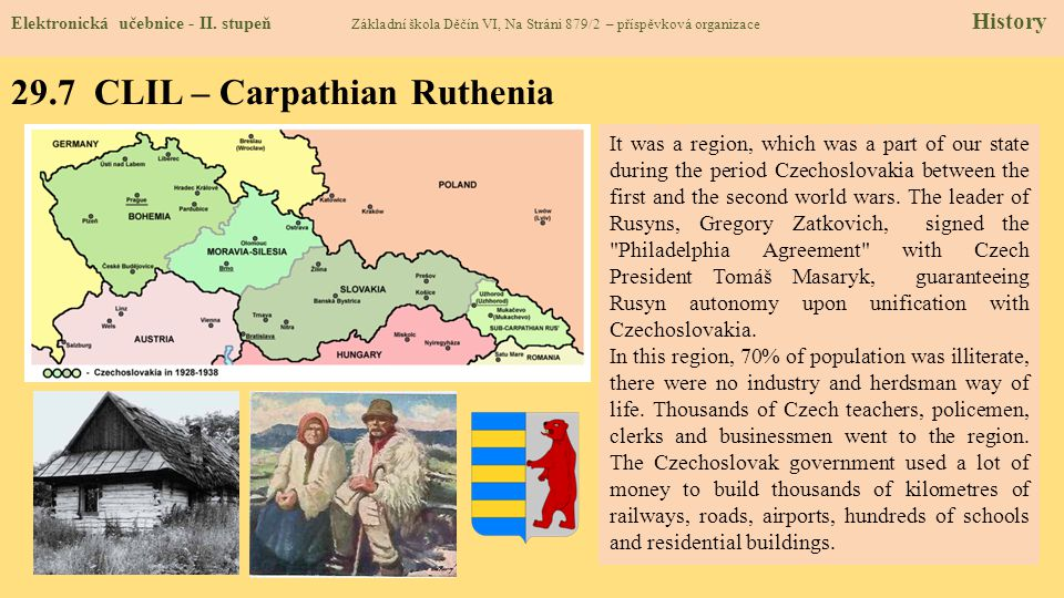 29.7 CLIL – Carpathian Ruthenia