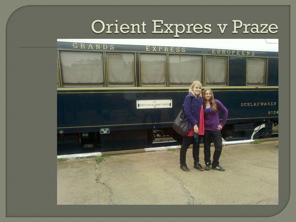 Orient Expres v Praze