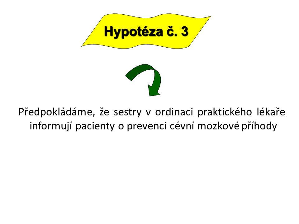 Hypotéza č.