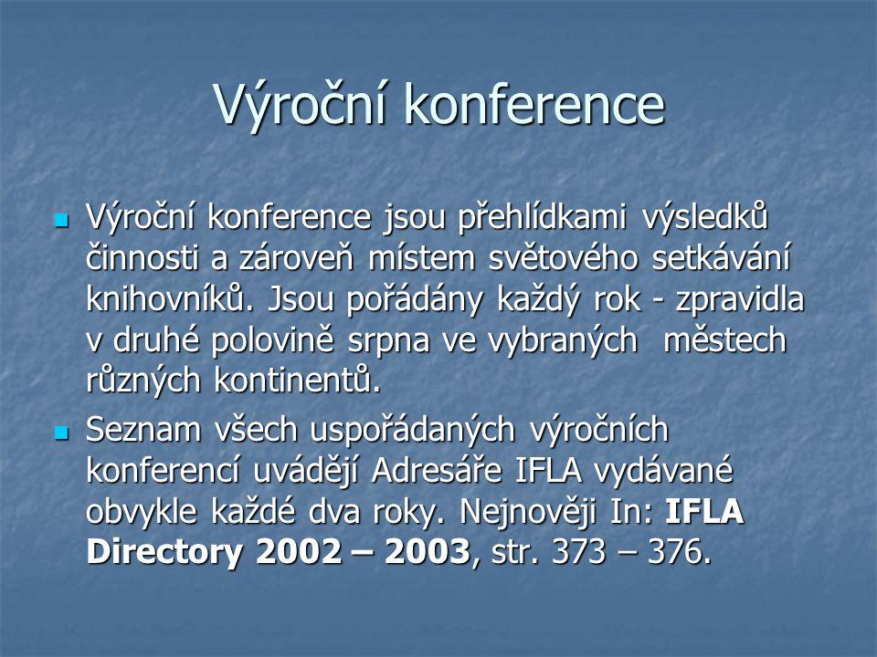 Výroční konference