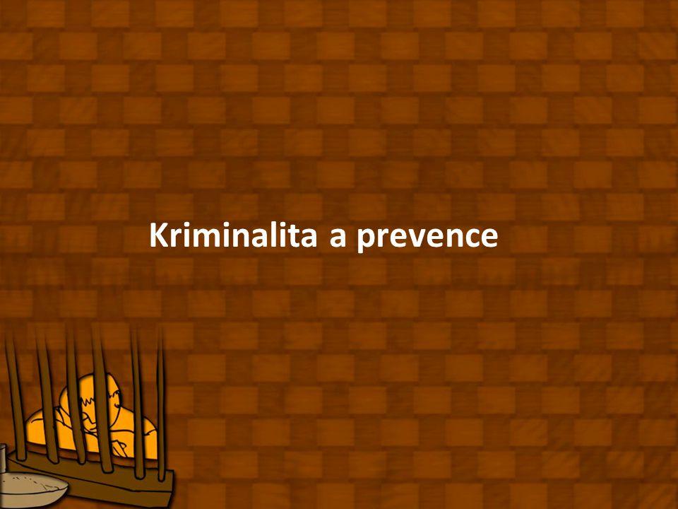 Kriminalita a prevence