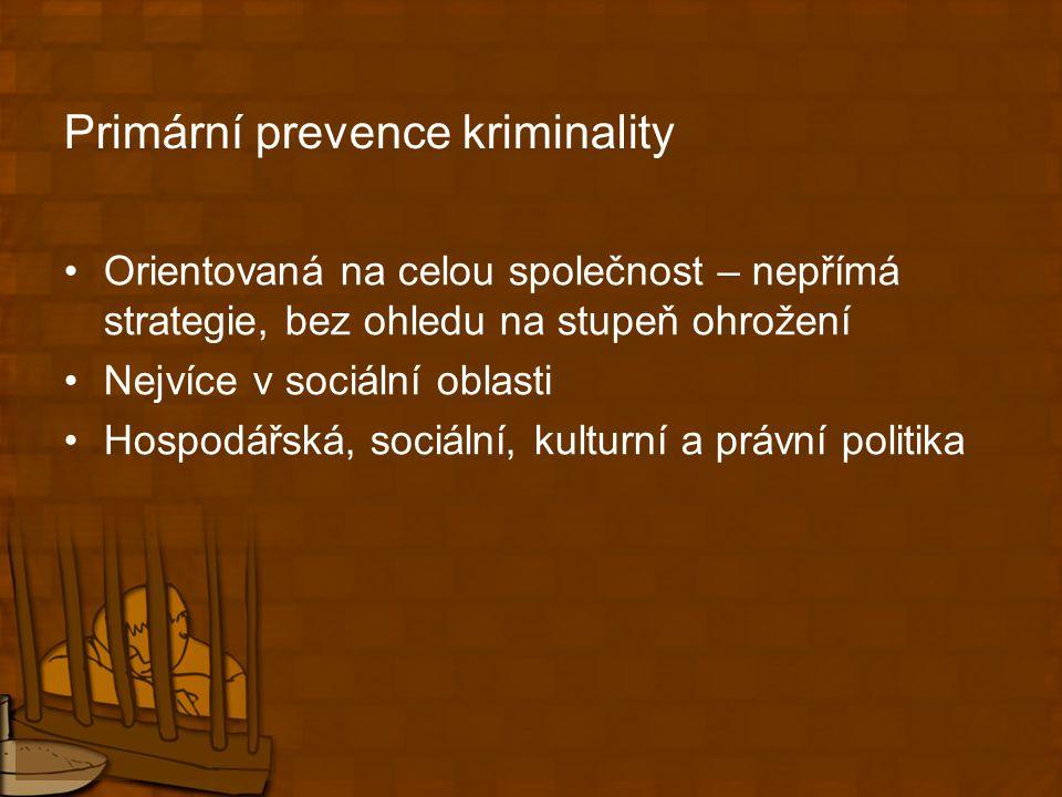 Primární prevence kriminality