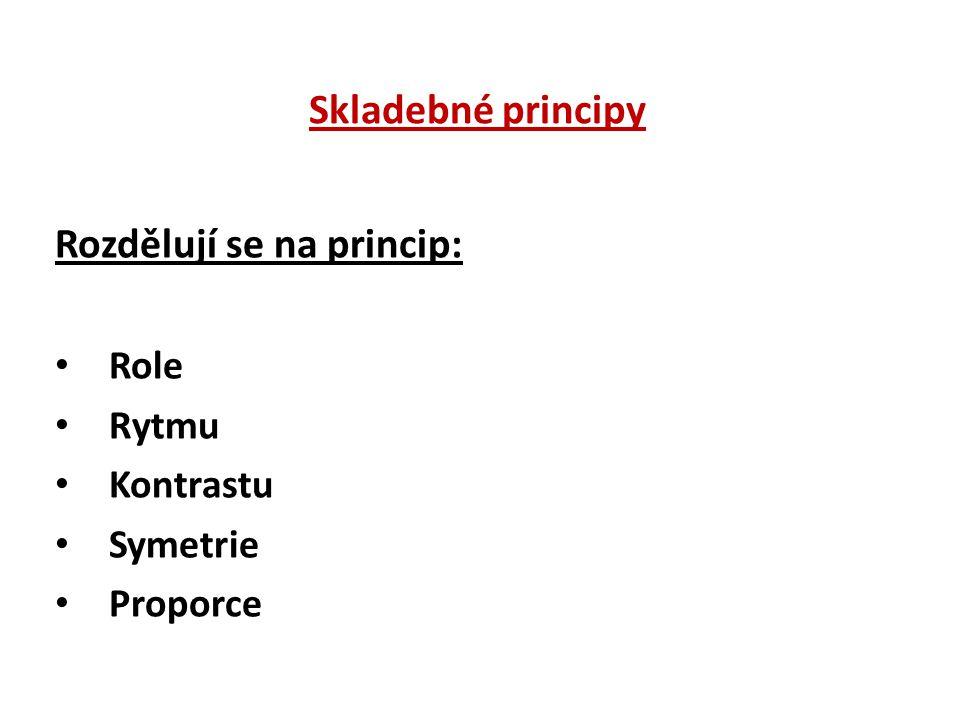 Rozdělují se na princip: