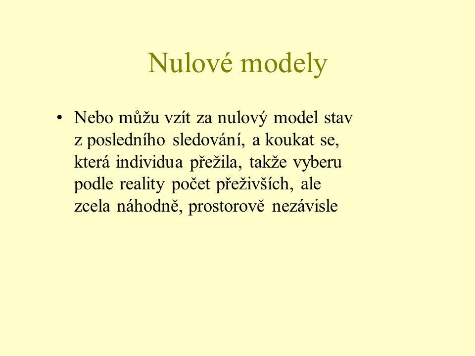 Nulové modely