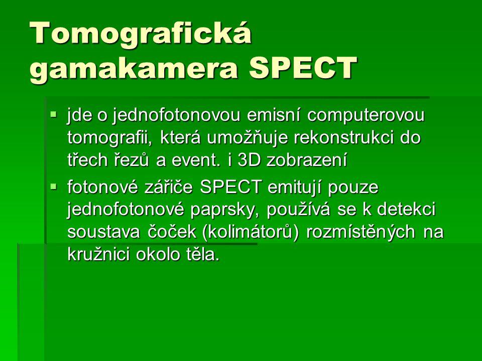Tomografická gamakamera SPECT