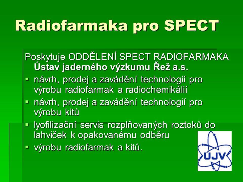 Radiofarmaka pro SPECT