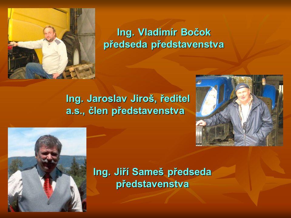 Ing. Jiří Sameš předseda představenstva