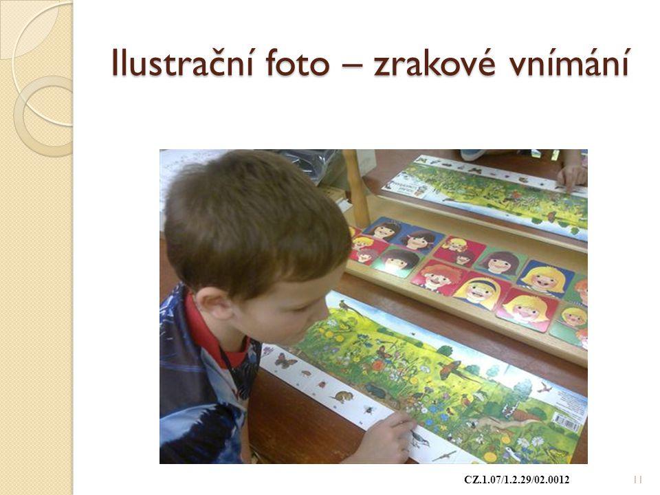 Ilustrační foto – zrakové vnímání