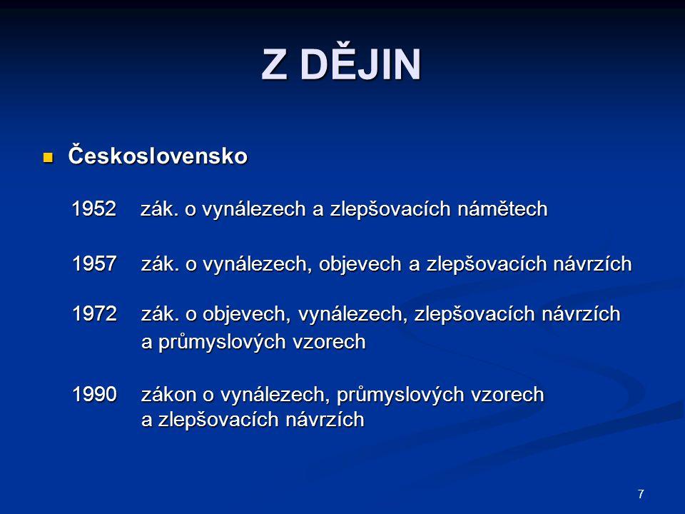 Z DĚJIN Československo