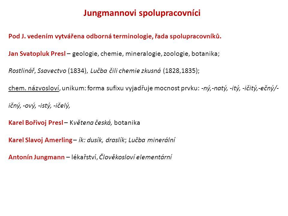 Jungmannovi spolupracovníci