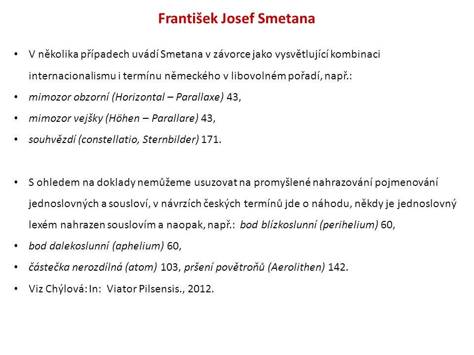 František Josef Smetana