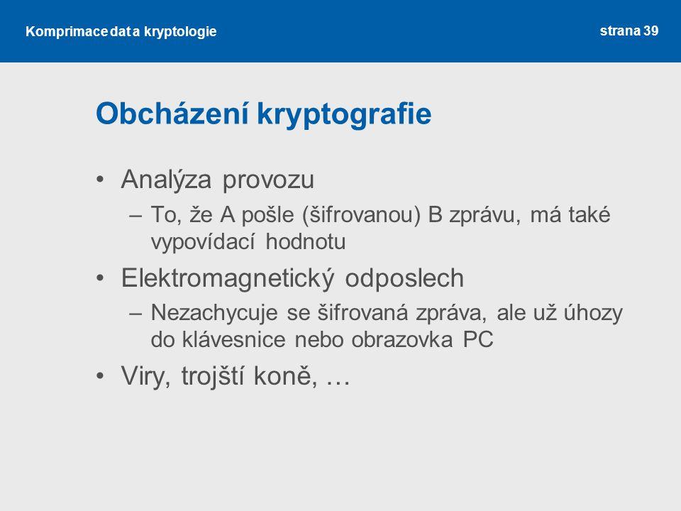 Obcházení kryptografie