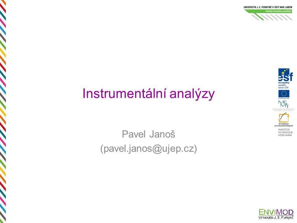 Instrumentální analýzy