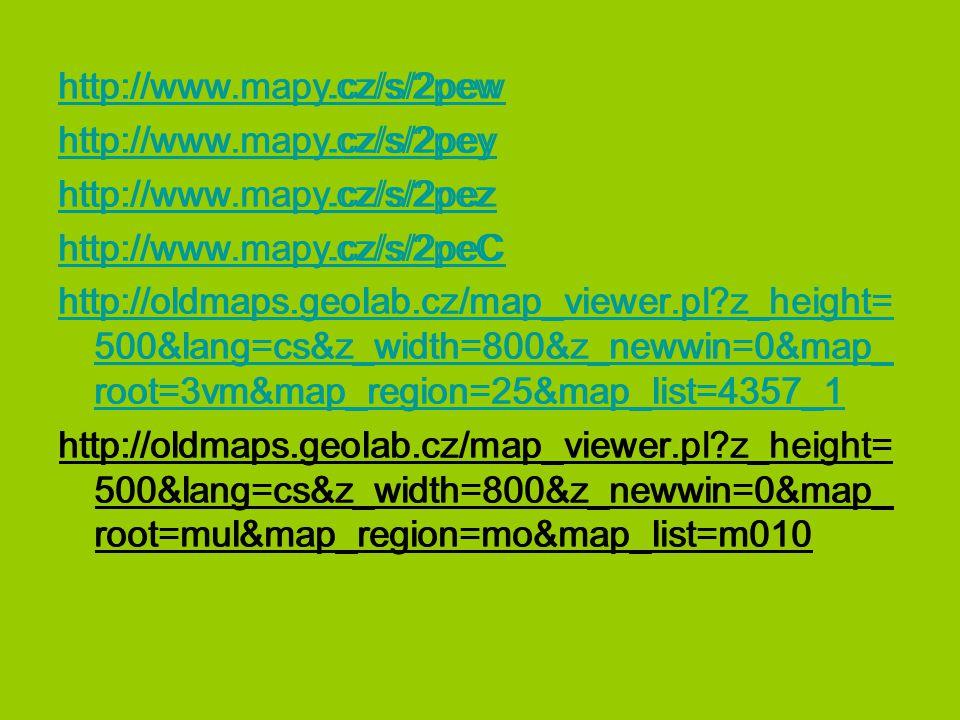 http://www.mapy.cz/s/2pew http://www.mapy.cz/s/2pey. http://www.mapy.cz/s/2pez. http://www.mapy.cz/s/2peC.