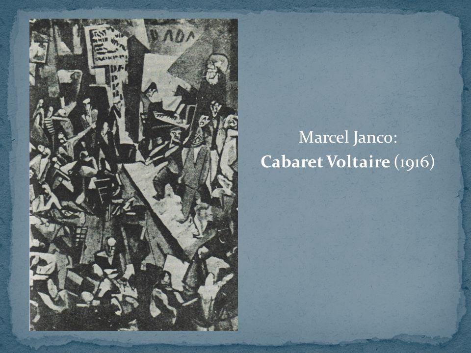 Marcel Janco: Cabaret Voltaire (1916)