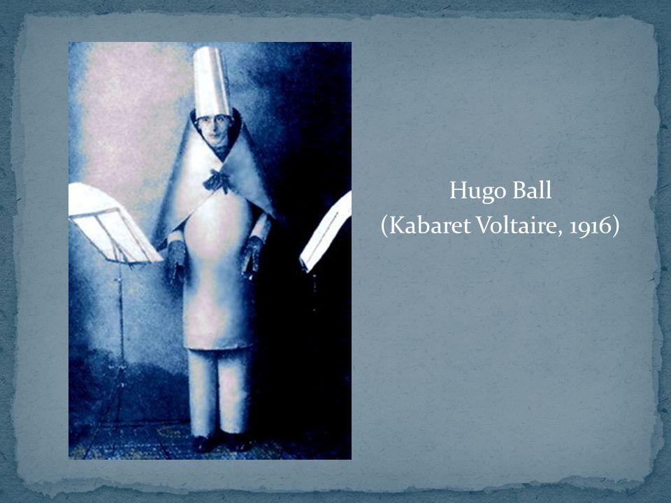 Hugo Ball (Kabaret Voltaire, 1916)