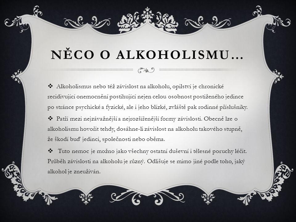 Něco o Alkoholismu…