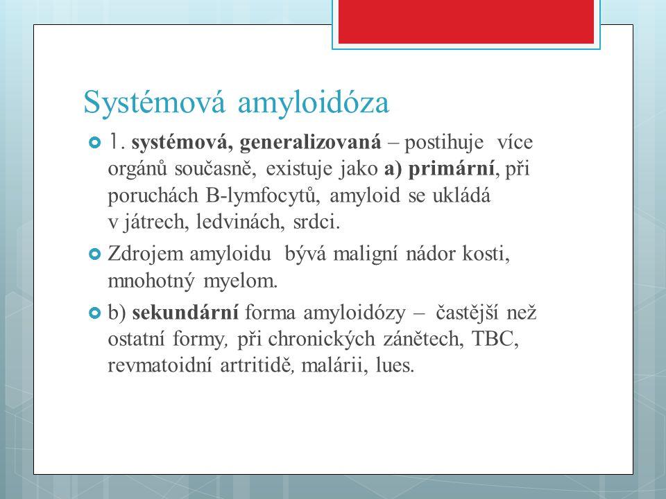 Systémová amyloidóza