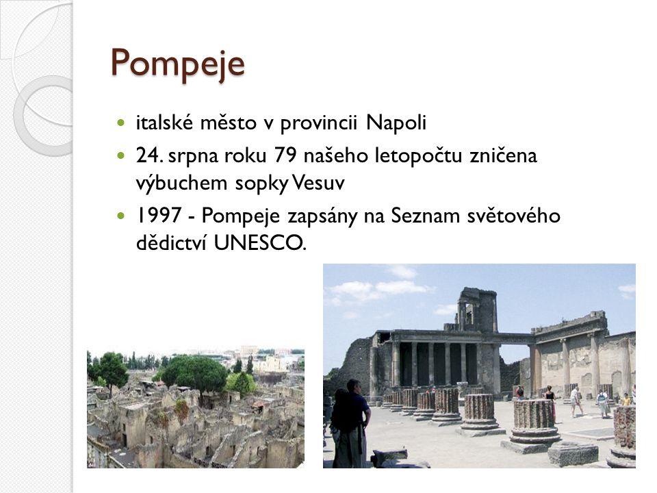 Pompeje italské město v provincii Napoli