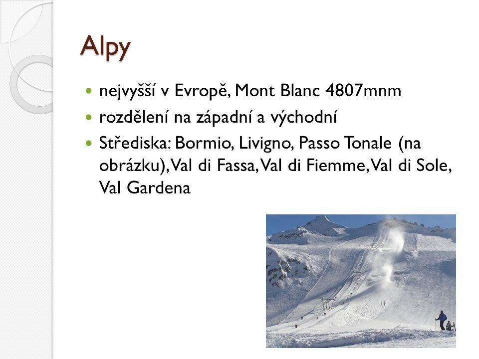 Alpy nejvyšší v Evropě, Mont Blanc 4807mnm