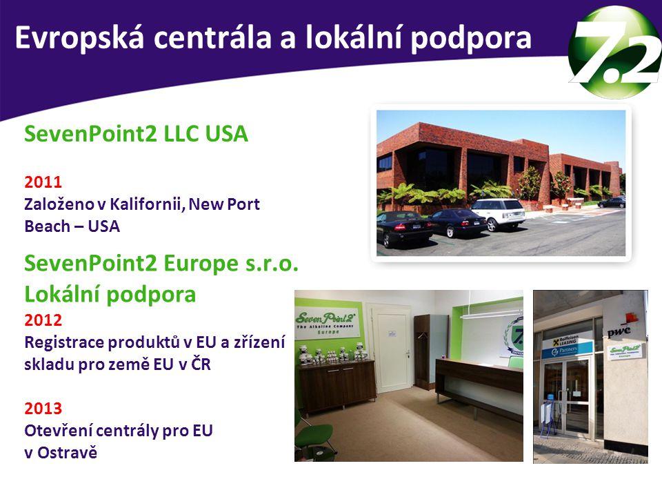 Evropská centrála a lokální podpora