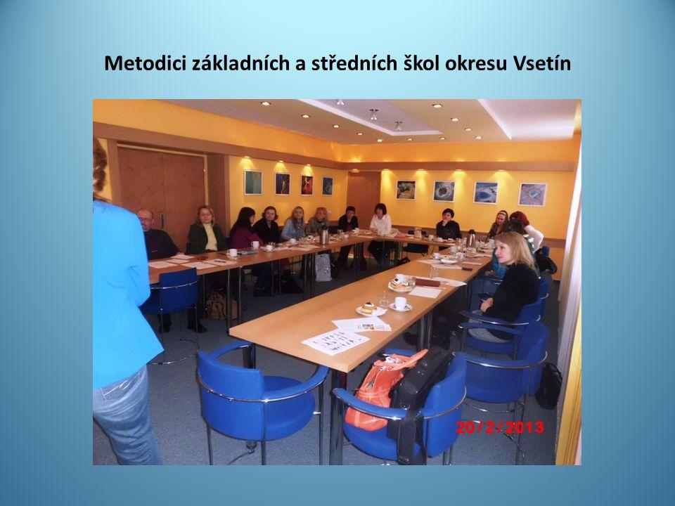 Metodici základních a středních škol okresu Vsetín