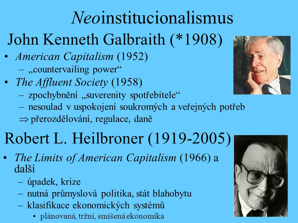 Neoinstitucionalismus