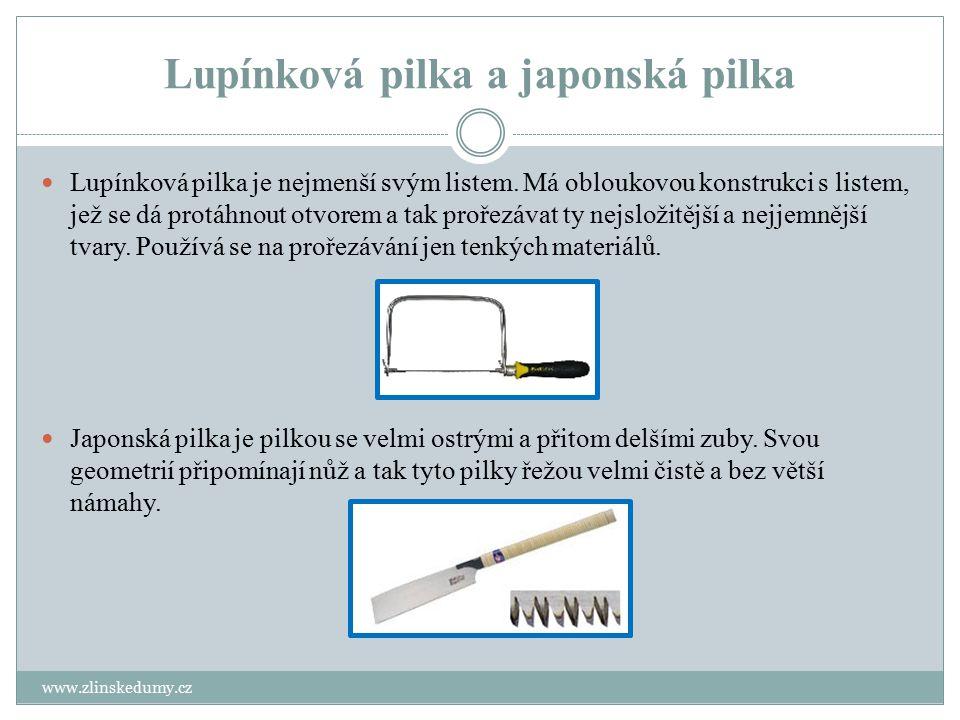 Lupínková pilka a japonská pilka