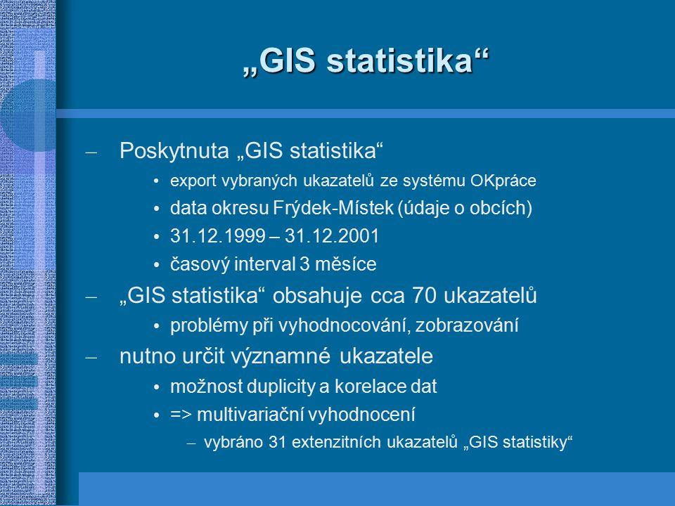 """GIS statistika Poskytnuta ""GIS statistika"