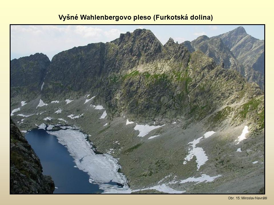 Vyšné Wahlenbergovo pleso (Furkotská dolina)
