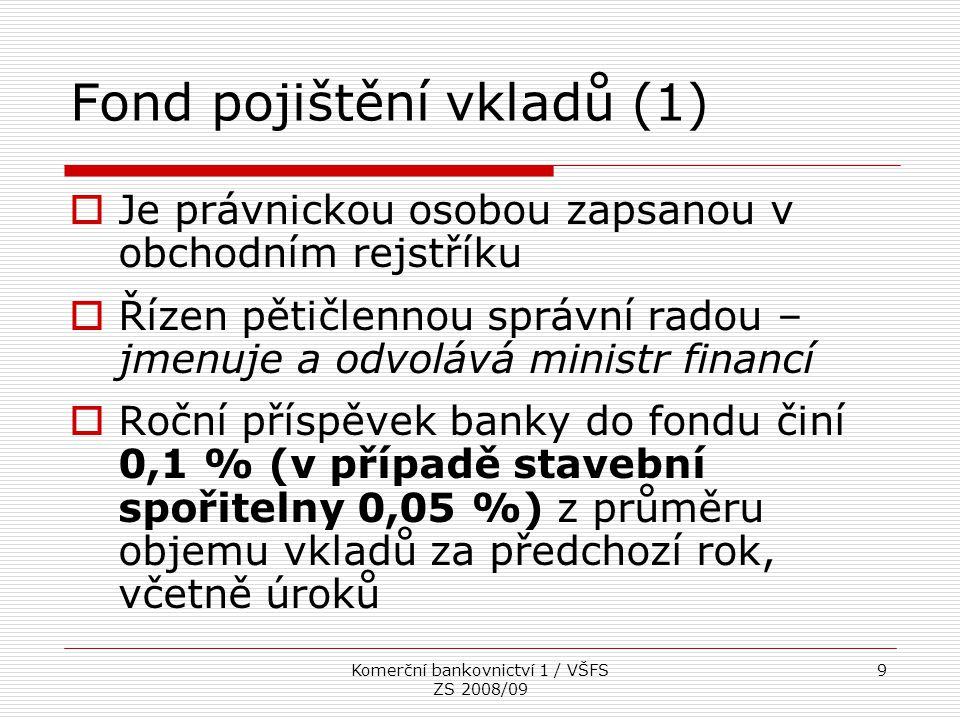 Fond pojištění vkladů (1)