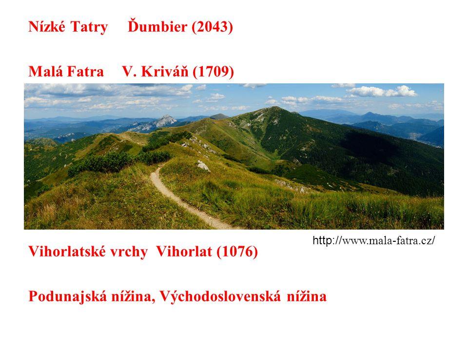 Nízké Tatry Ďumbier (2043) Malá Fatra V