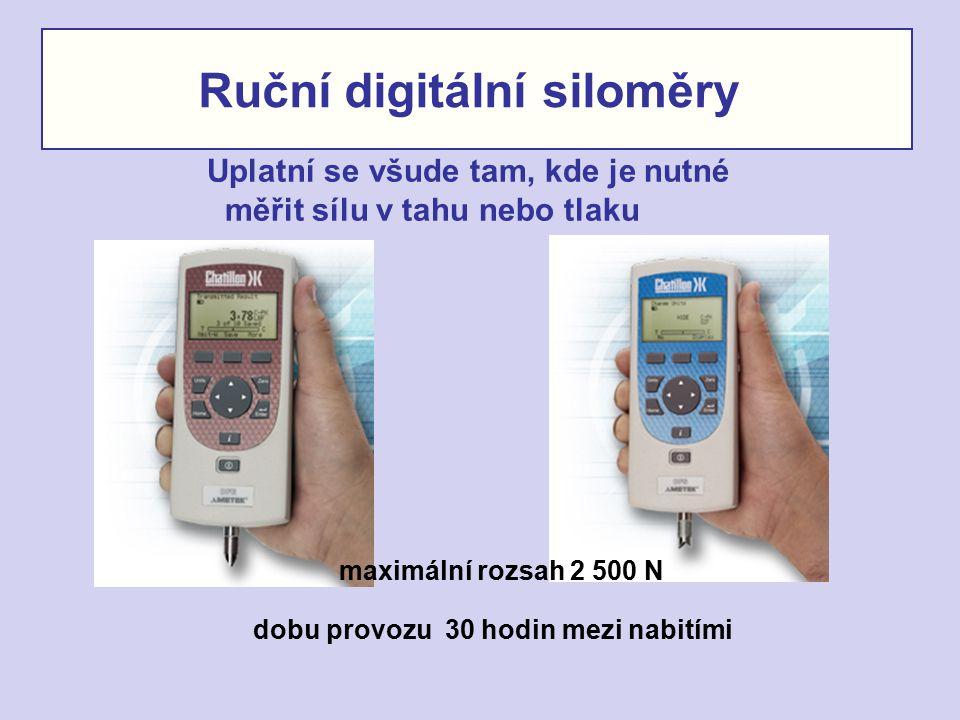 Ruční digitální siloměry