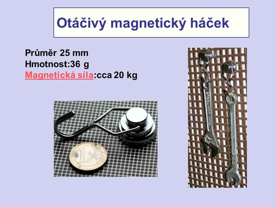Otáčivý magnetický háček