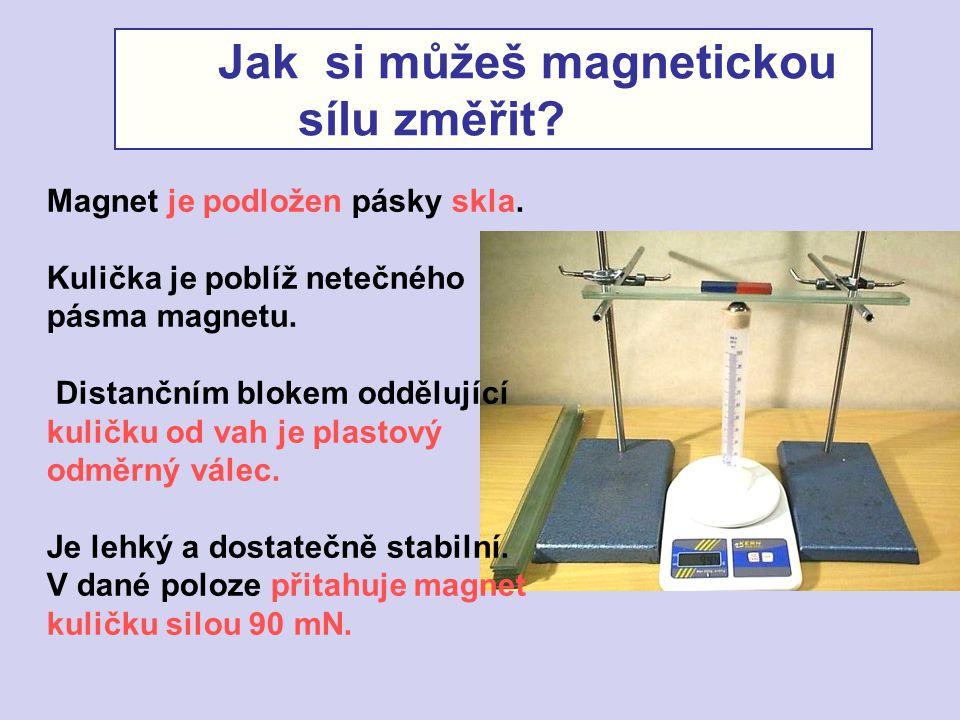 Jak si můžeš magnetickou sílu změřit