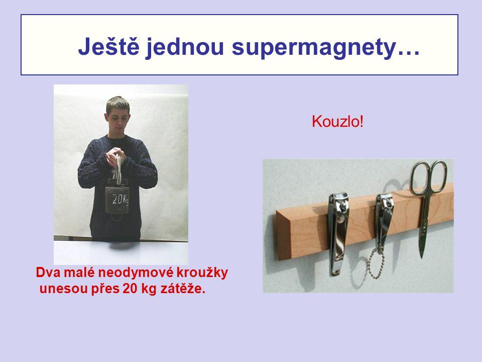 Ještě jednou supermagnety…