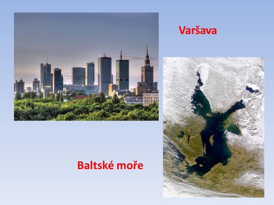 Varšava Baltské moře