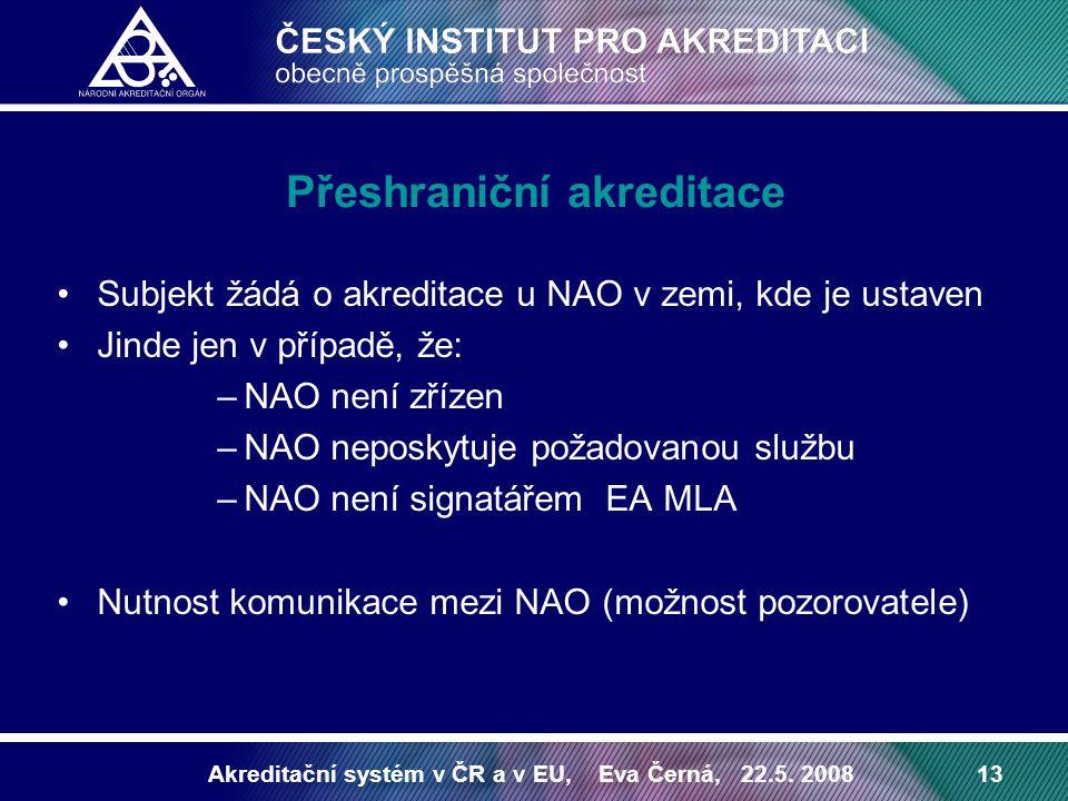Přeshraniční akreditace