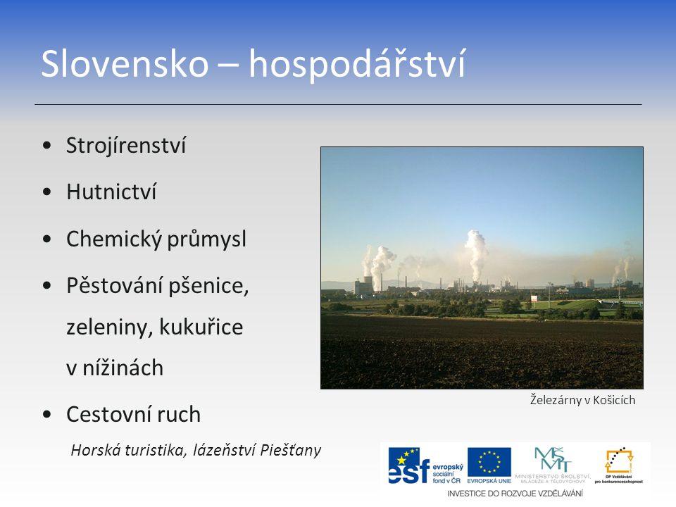 Slovensko – hospodářství