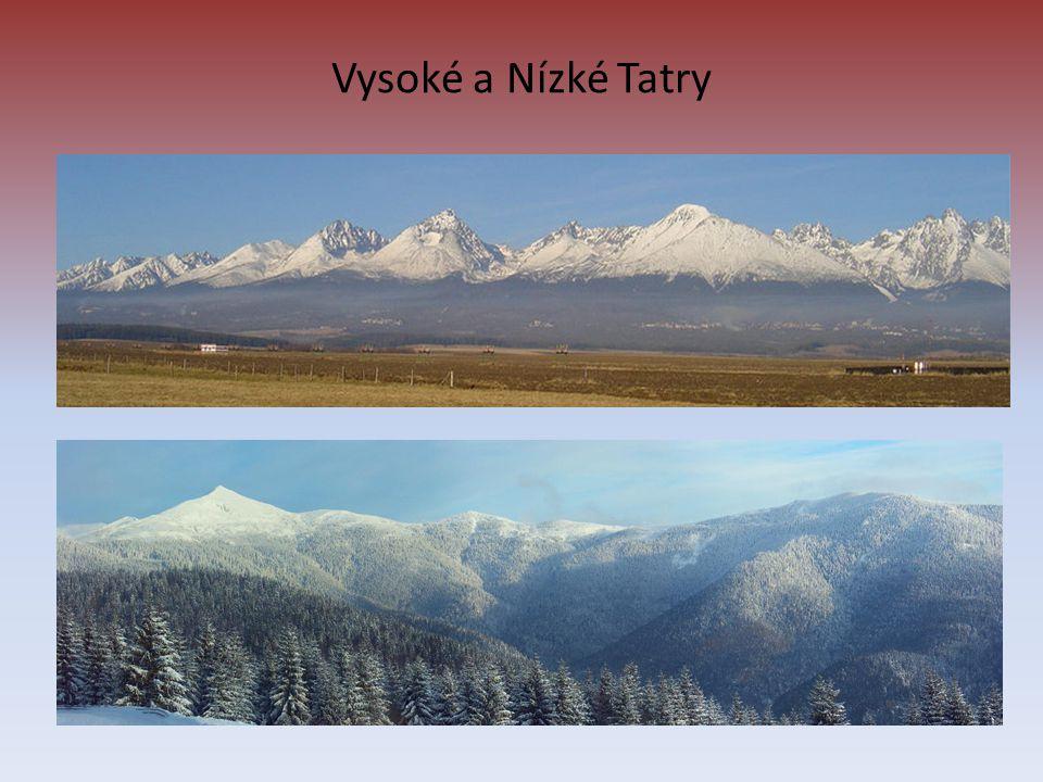Vysoké a Nízké Tatry