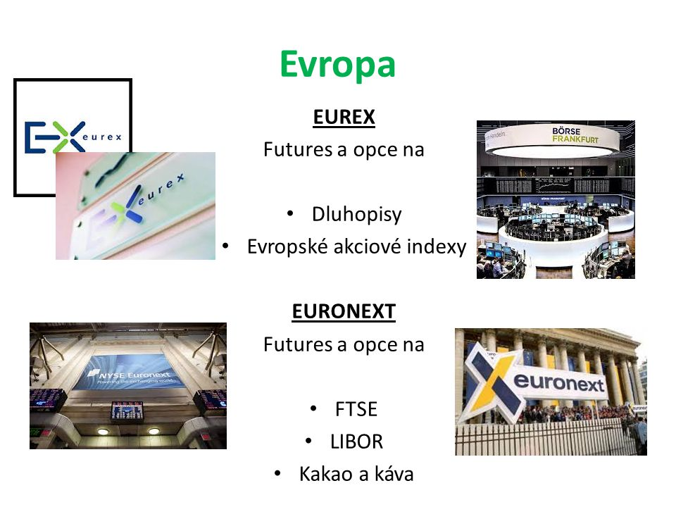 Evropské akciové indexy