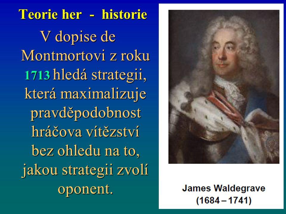 Teorie her - historie