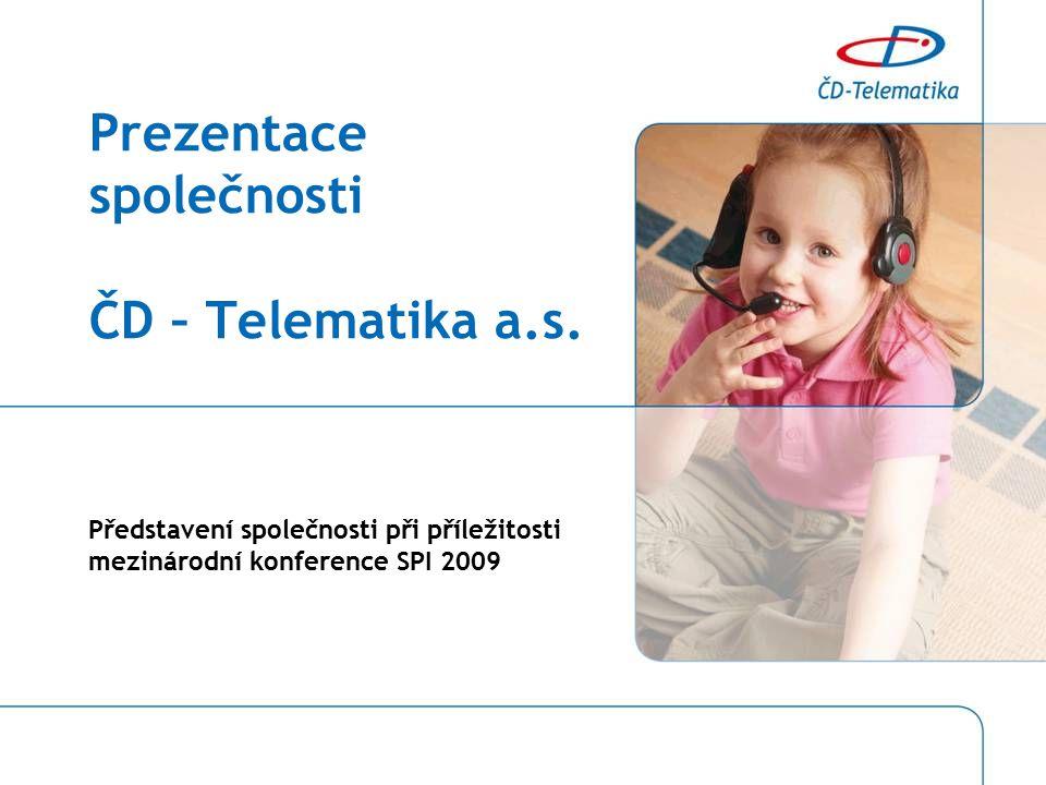 Prezentace společnosti ČD – Telematika a.s.