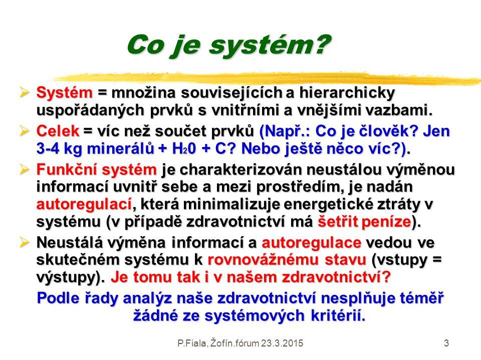 Co je systém Systém = množina souvisejících a hierarchicky uspořádaných prvků s vnitřními a vnějšími vazbami.