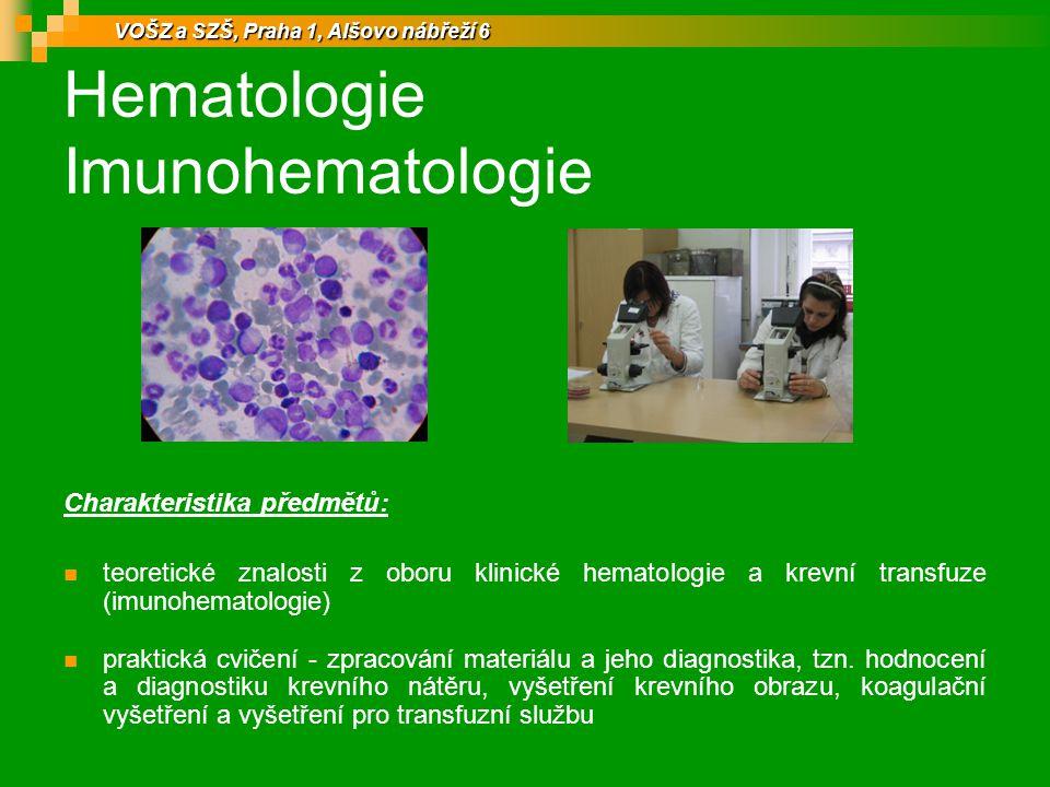 Hematologie Imunohematologie