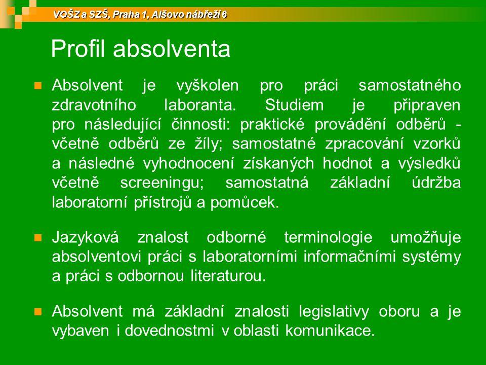 VOŠZ a SZŠ, Praha 1, Alšovo nábřeží 6