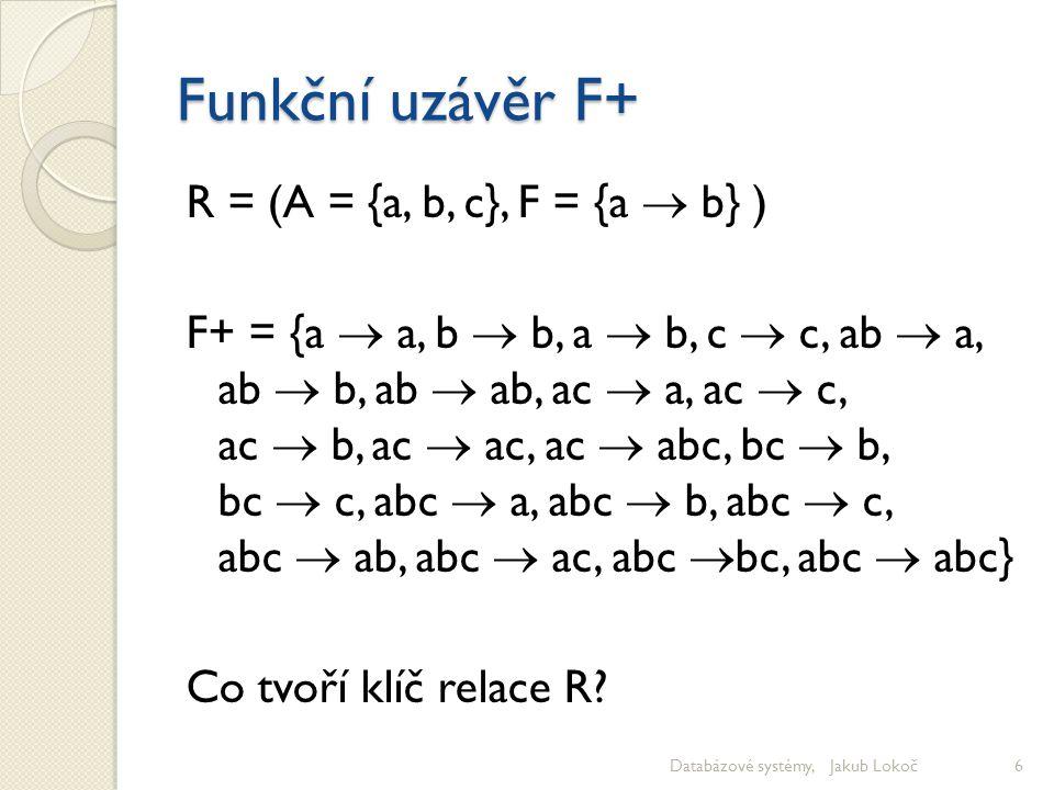 Funkční uzávěr F+