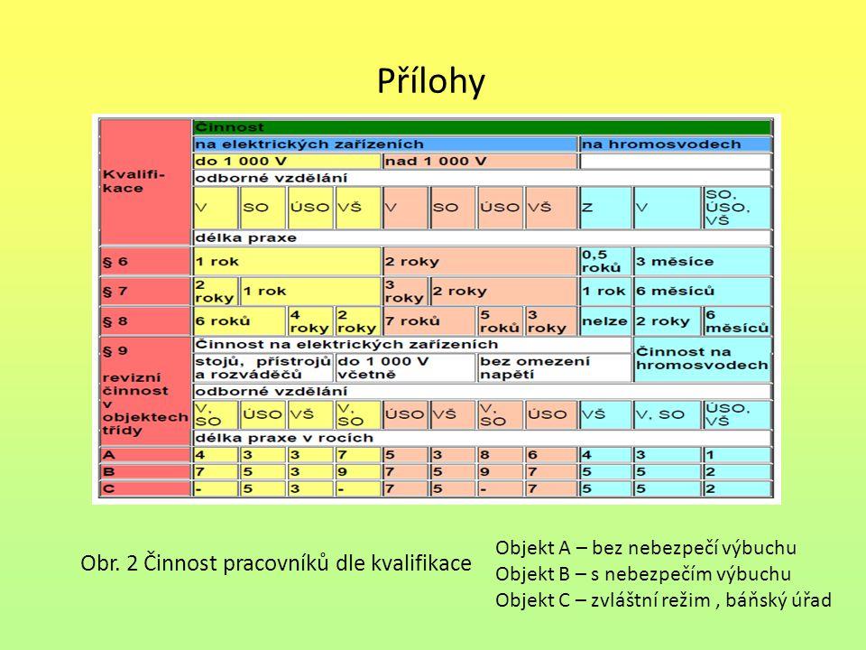 Přílohy Obr. 2 Činnost pracovníků dle kvalifikace
